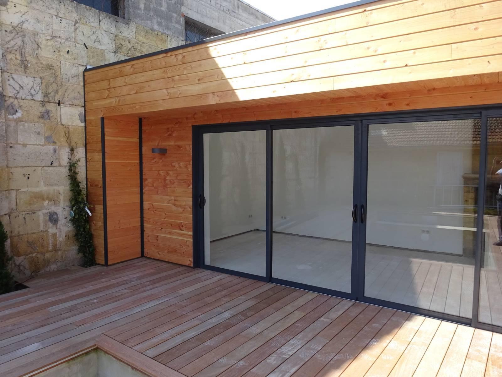 Construire Un Pool House réaliser un poolhouse à libourne en gironde - construction