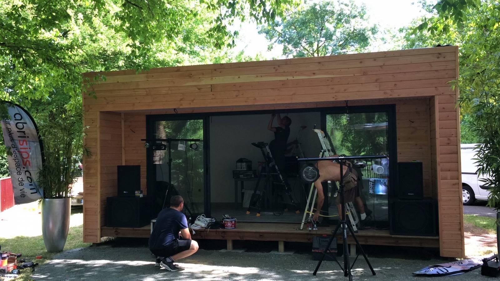 D coration extension de maison en bois sans permis de for Construire maison 78