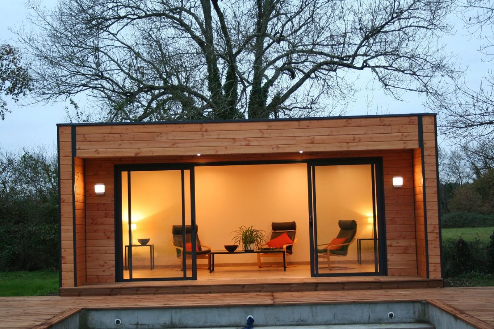 Maison bois 20m2 abri jardin chalet abri de jardin 720m for Abri bois 20m2