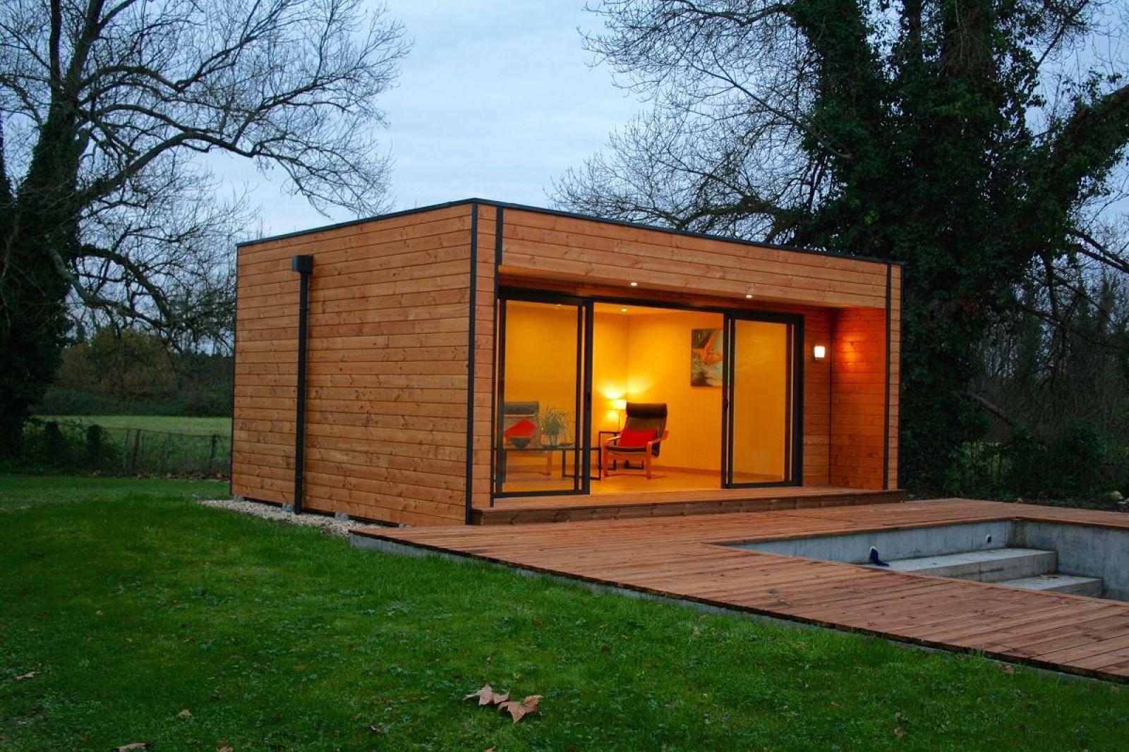 Pi ce multifonctionel en bois de 19 8m saint denis de pile construction en bois bordeaux - Abri jardin occasion saint denis ...