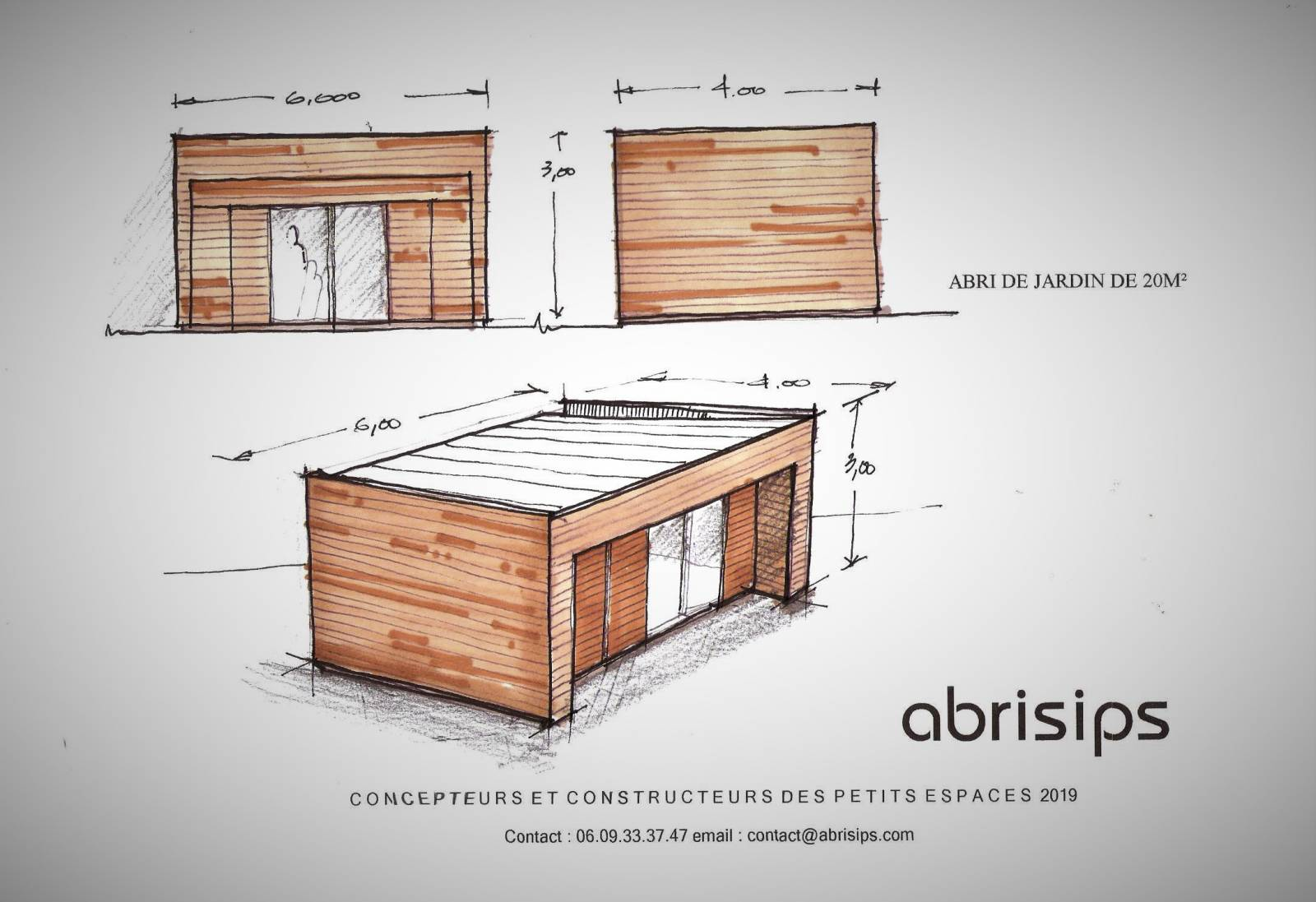 Abri De Jardin En Pin Douglas abri de jardin en ceinture bois de 20m² - construction en