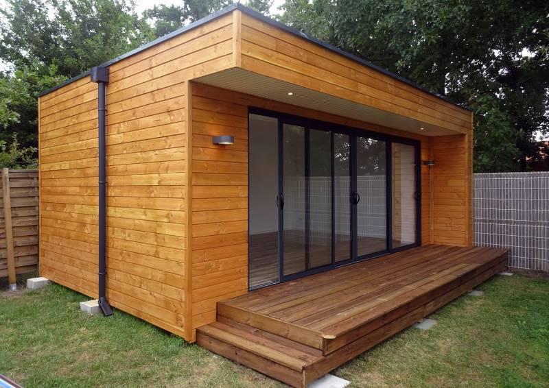 Studio De Jardin Design Habitable En Bois Gironde  Abrisips